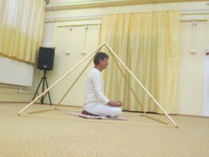 relaxačná skladacia pyramída
