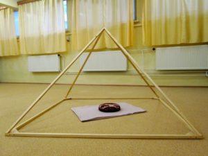 interiérové skladacie pyramídy