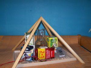 pyramídy: pyramída na potraviny