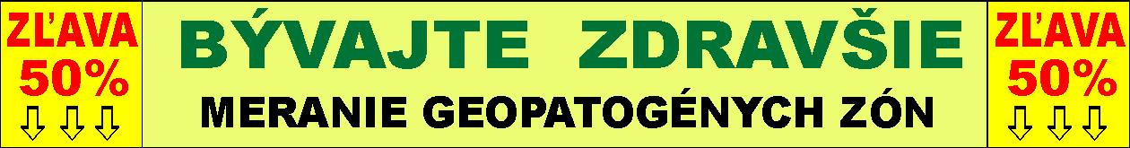 Geopatogenne Zóny – Meranie a Odrušenie na celom Slovensku